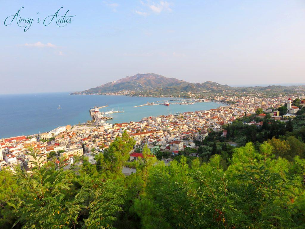 View of Zakynthos from Bochali
