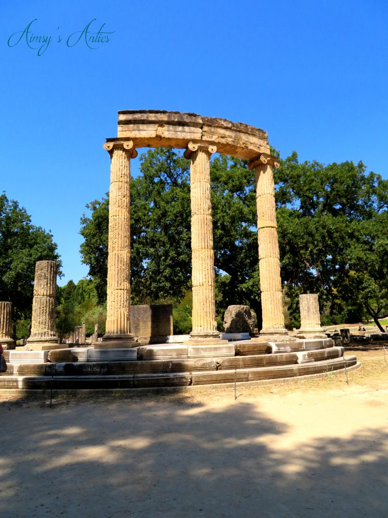 Ancient Olympia Temple