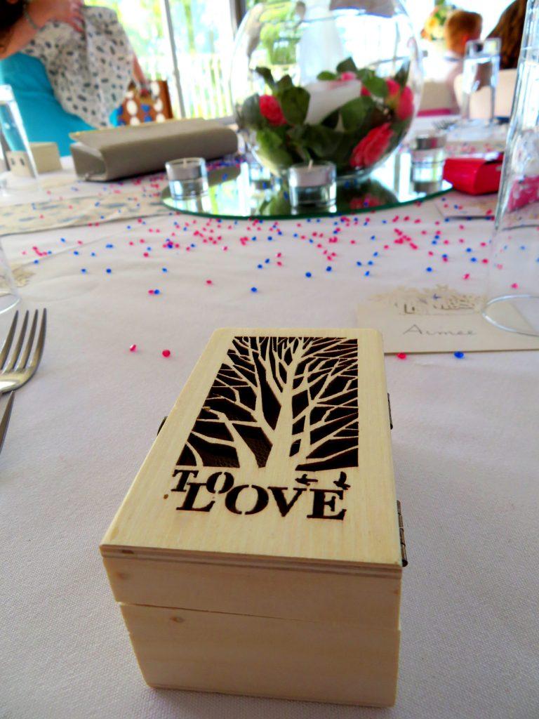 wedding favour box
