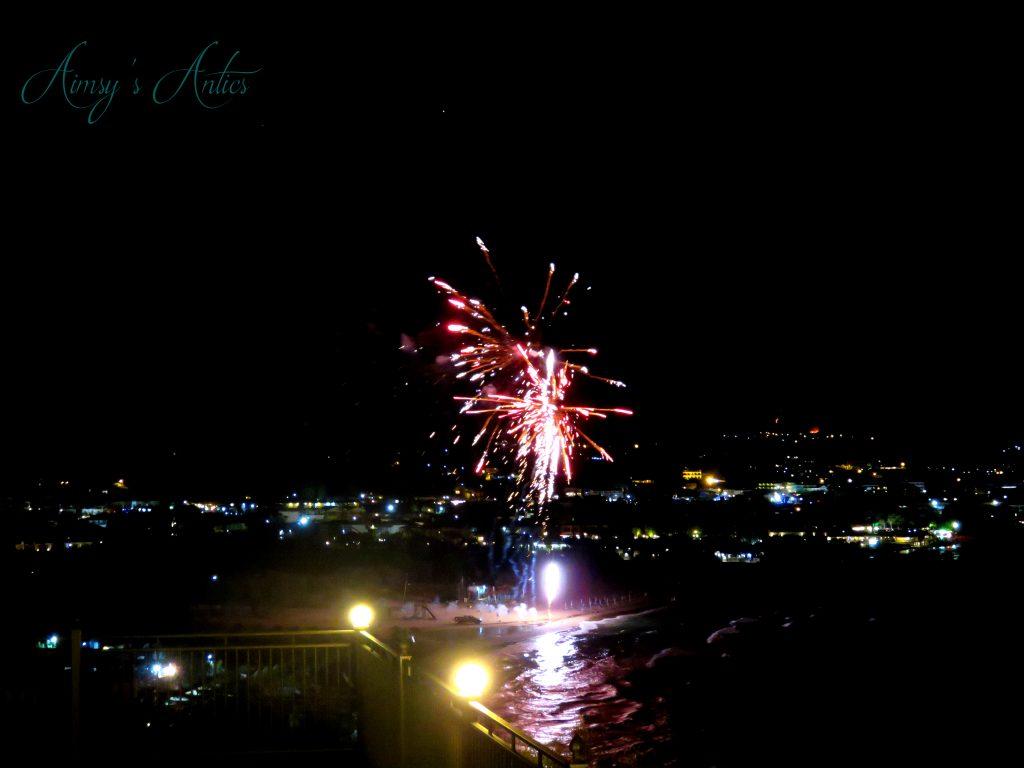 Fireworks in Zakynthos
