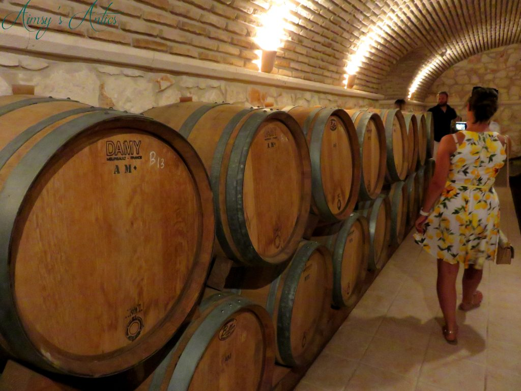 Winery tour at Solomos wines