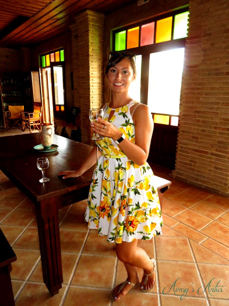 Wine tasting at Solomos Winery