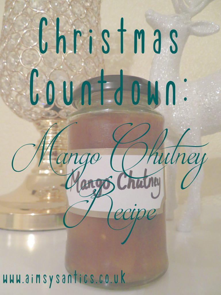 Mango chutney recipe title pic