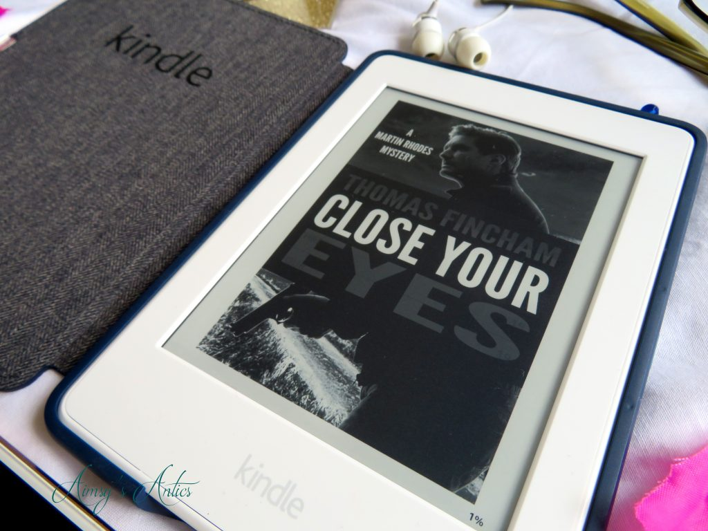 Close Your Eyes Kindle book cover