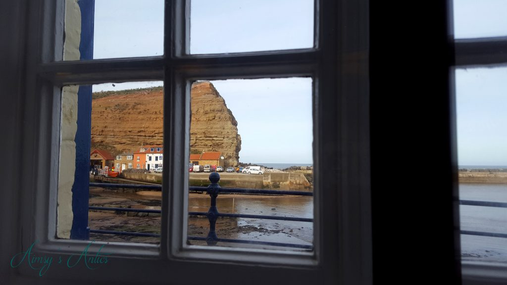 View from Cod and Lobster, Staithes