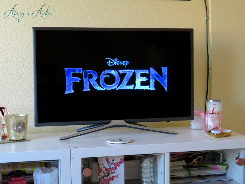 Frozen tv screen