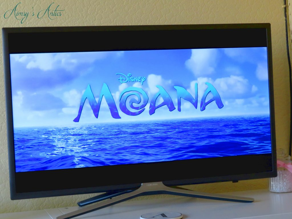 Moana TV Screen