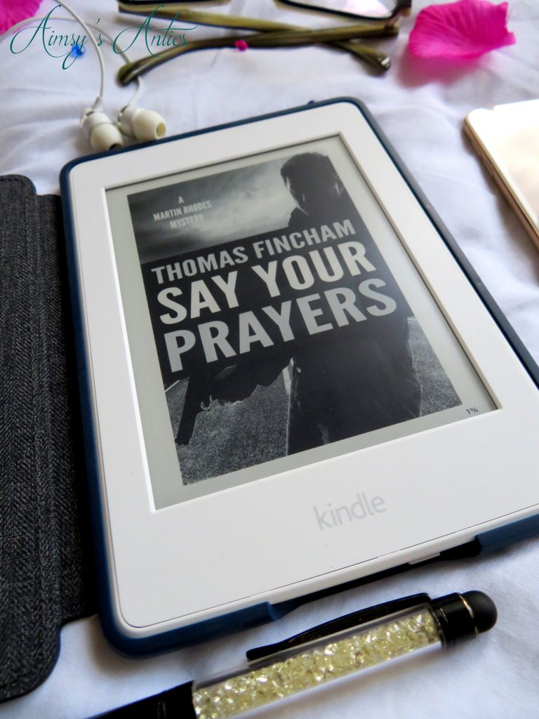 Say your prayers kindle book cover