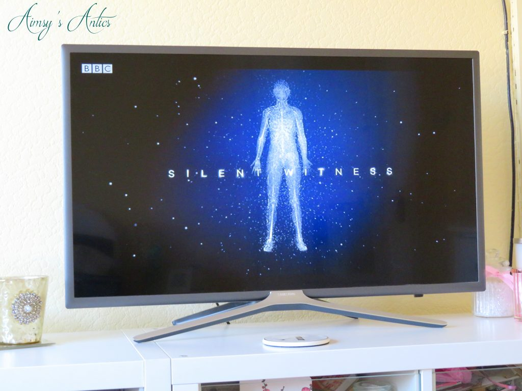 Silent witness TV Screen