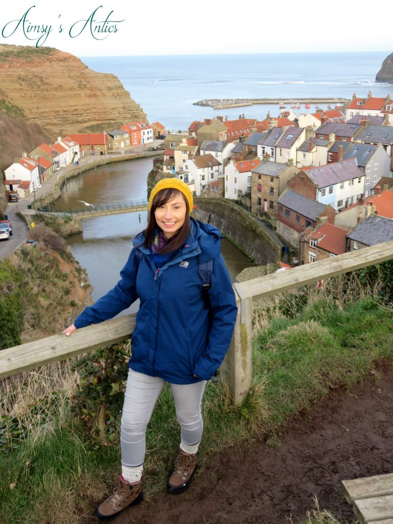 View overlooking Staithes