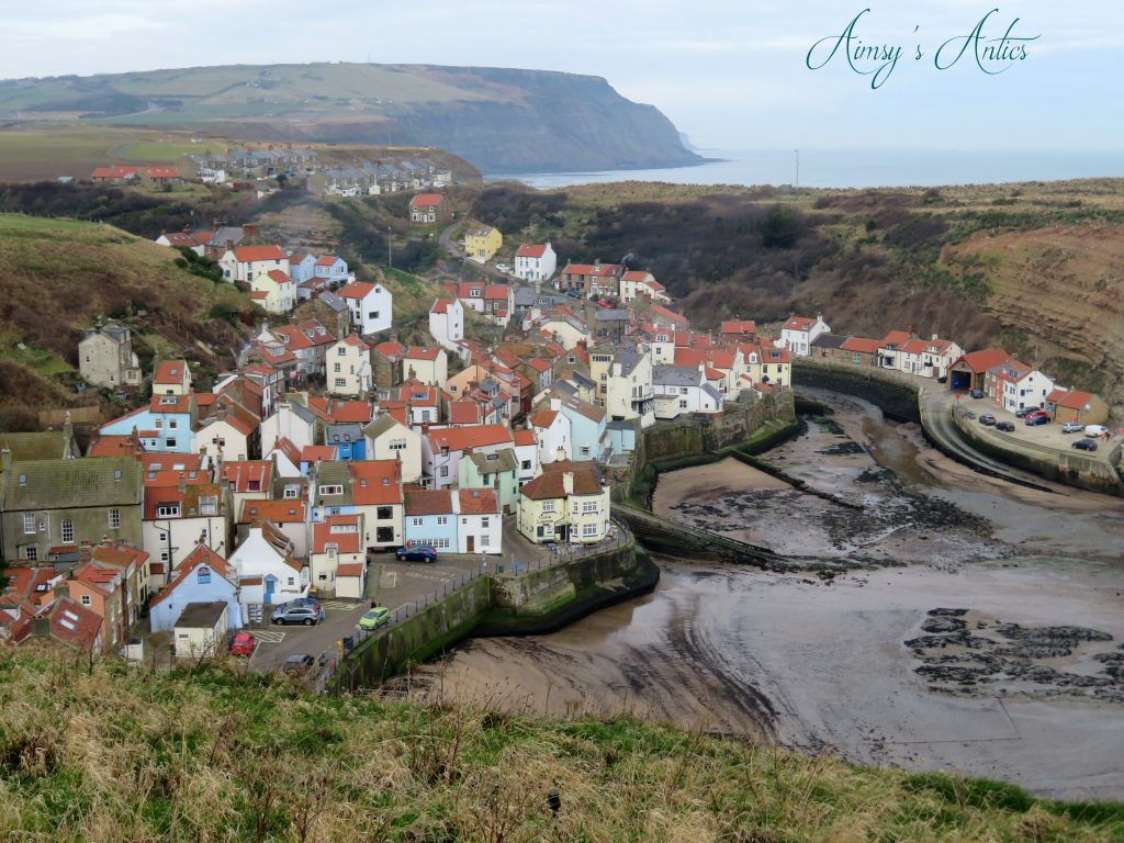 View of the Bay of Staithes