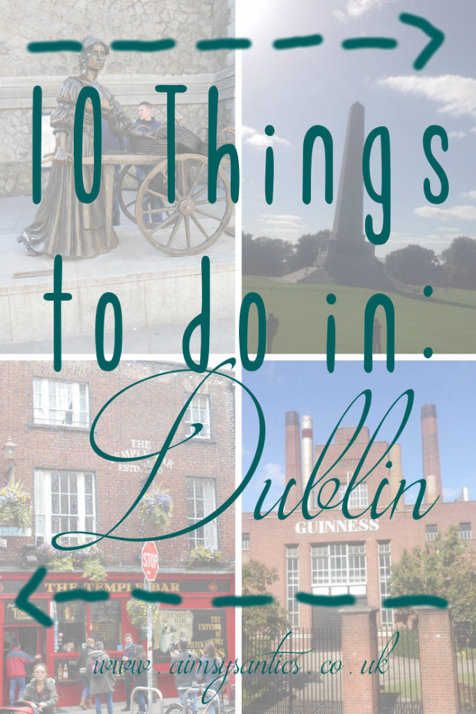 1o things to do in Dublin, title picture