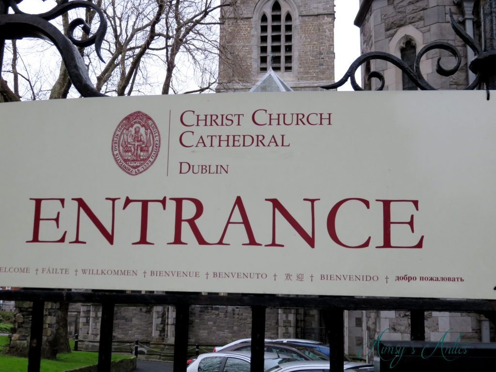 Christ Church Cathedral entrance, Dublin