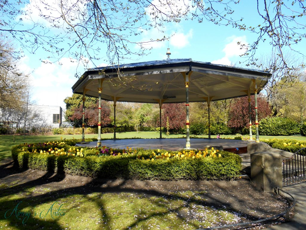 St Stephen's Green gazebo