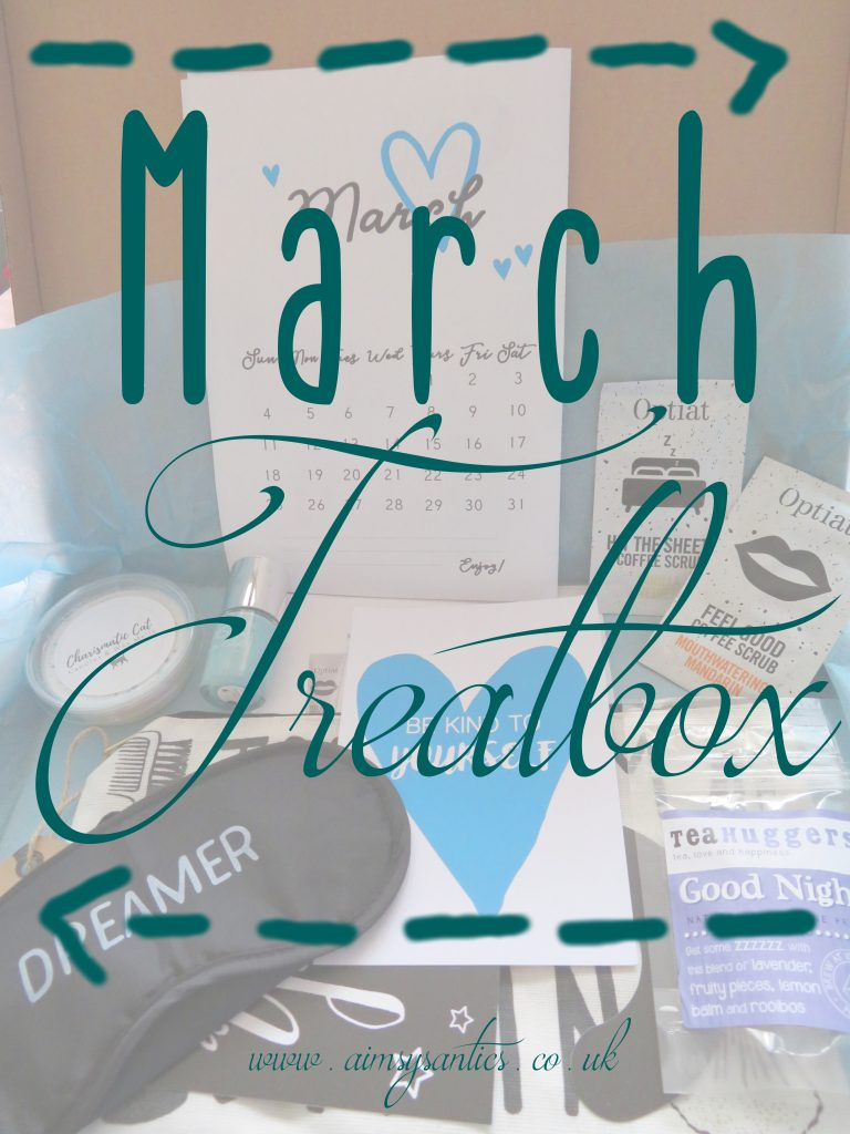 March's treatbox blog title picture