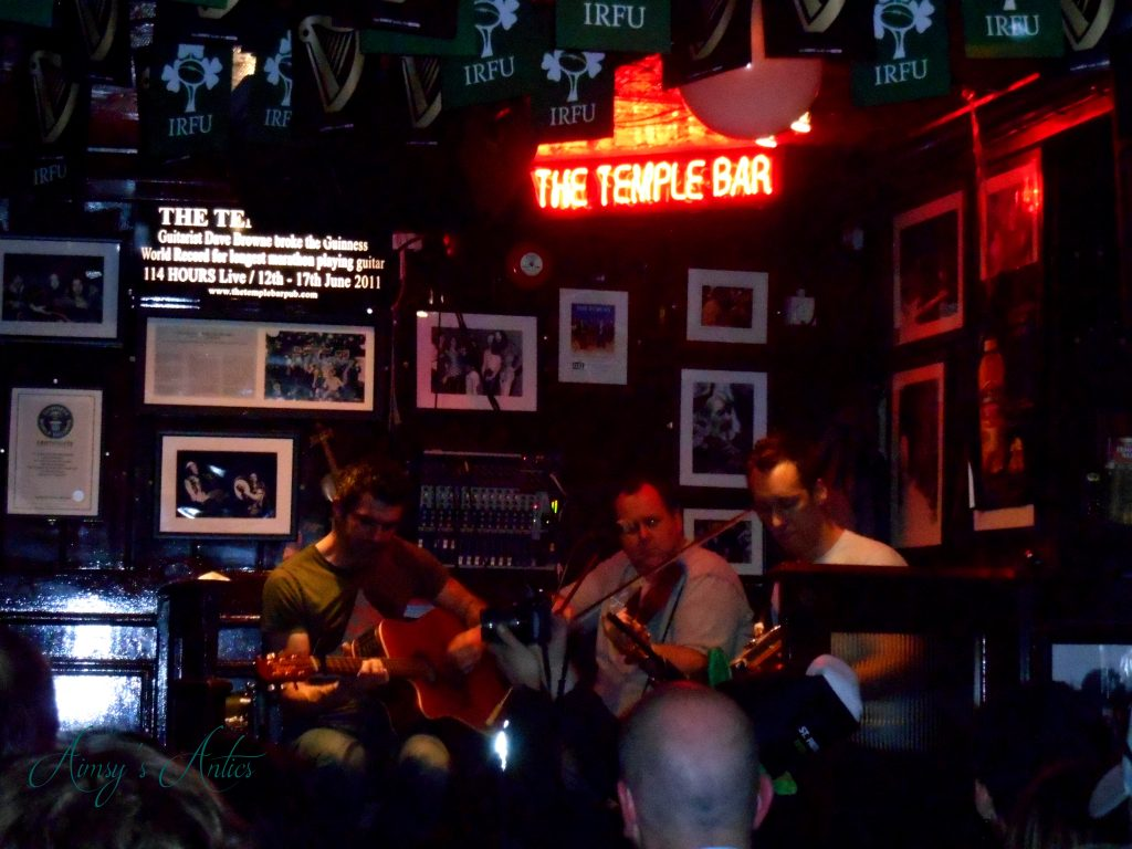 Live music Temple Bar, Dublin