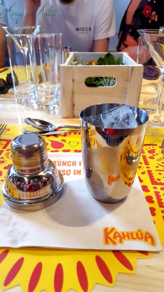 Mini cocktail shaker