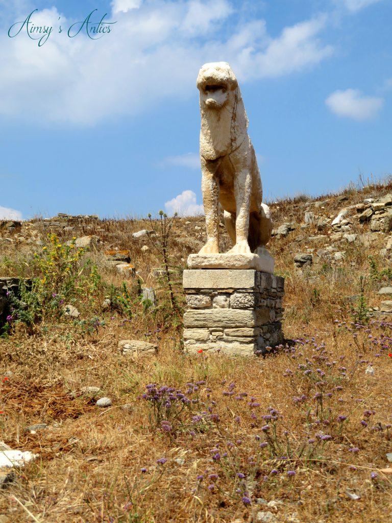 Lion statue on Delos