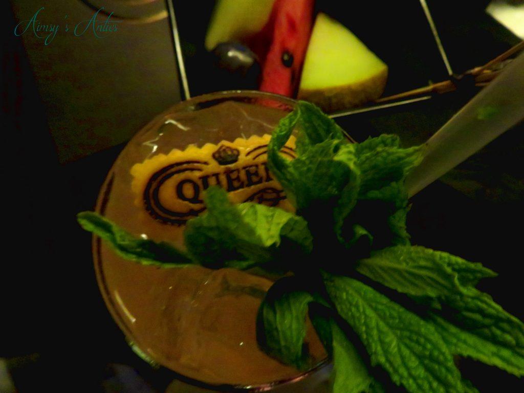 Queen of Mykonos cocktail