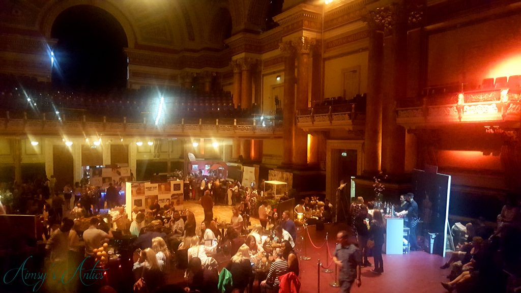 Leeds Town hall at the cocktails in the city event
