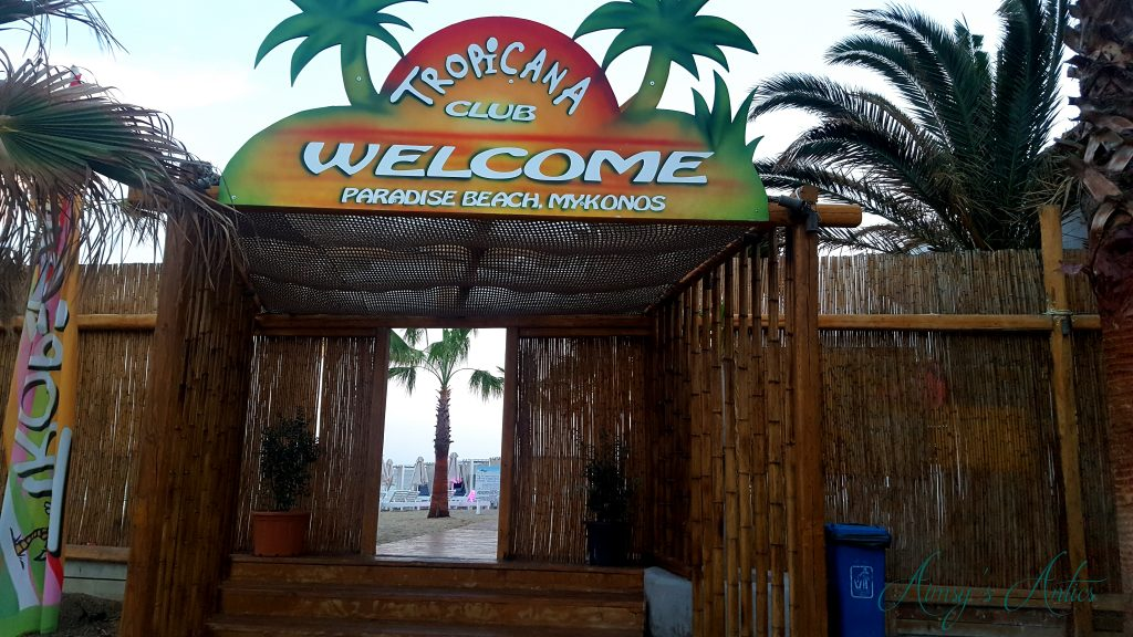 Tropicana Beach Club, Mykonos
