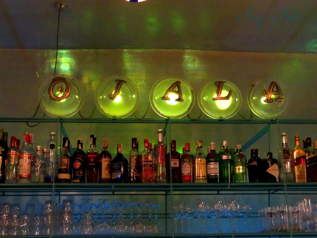 Ojala restaurant Madrid - Ojala bar area