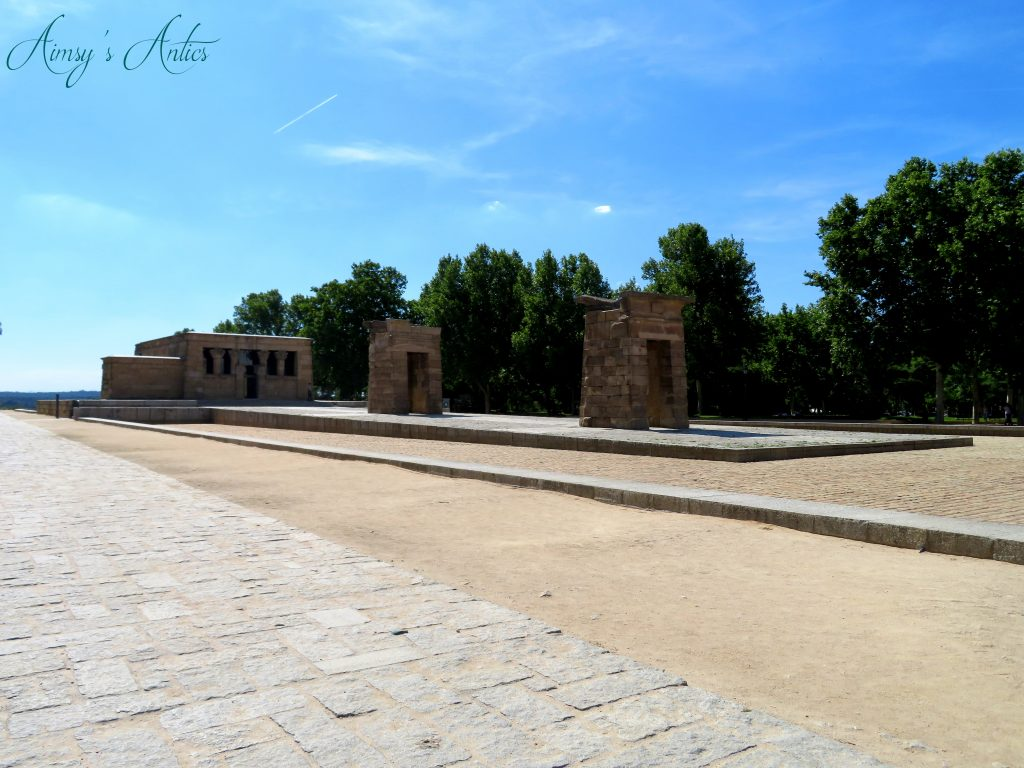 View of the Temple of Debod